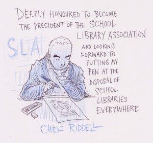 Chris Riddell SLA president