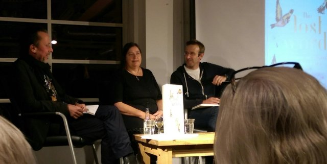 Jackie Morris and Robert Macfarlane